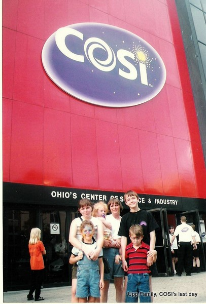 Credit: Upp Family, COSI's last day